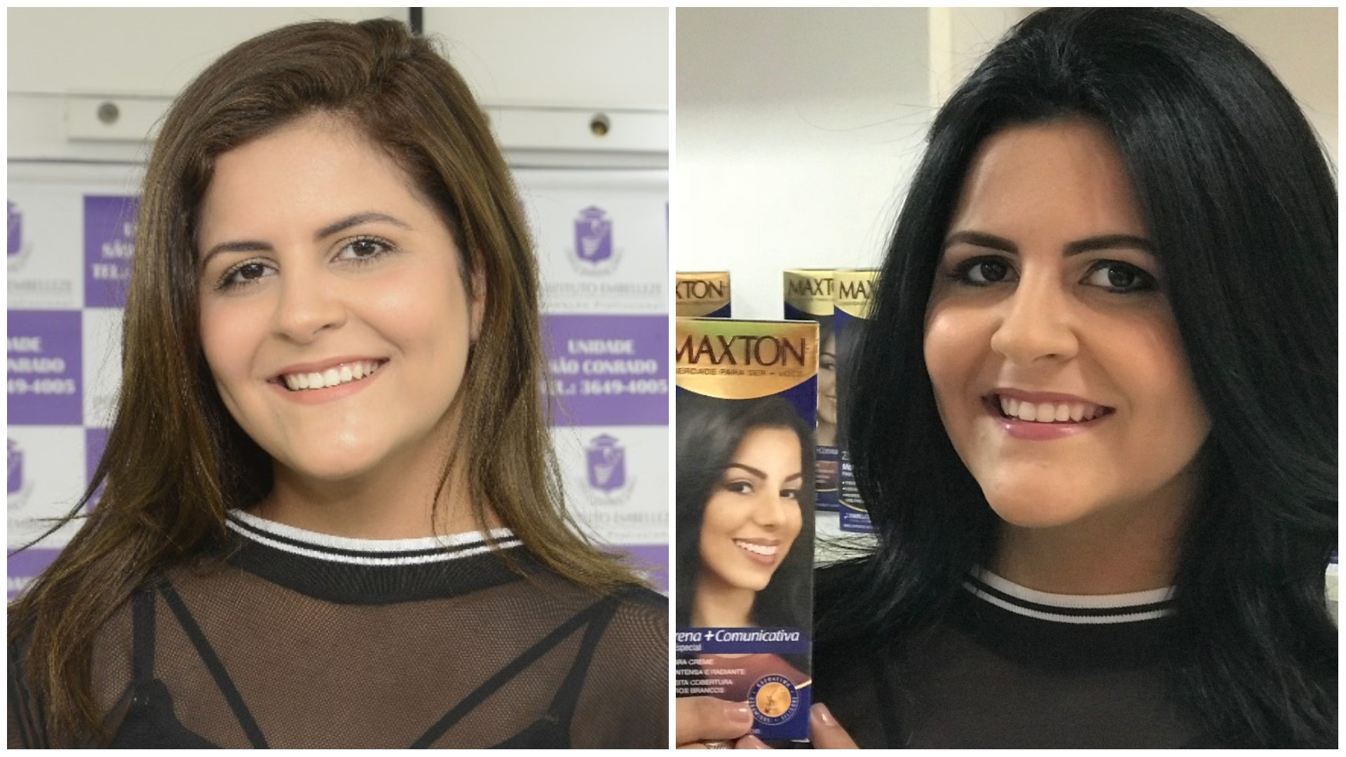 bonde das morenas maxton: andressa loureiro - antes e depois
