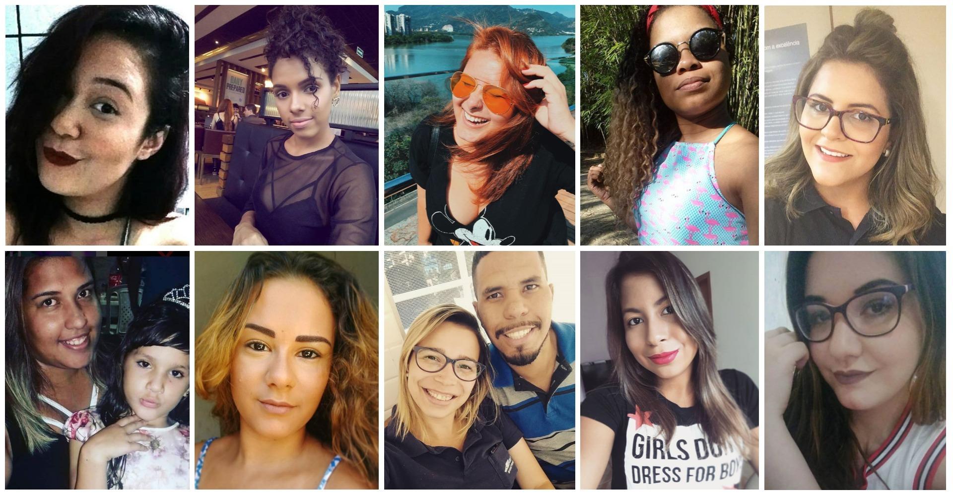 essas foram as 10 leitoras selecionadas para participar do bonde das morenas Maxton Embelleze