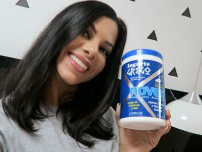 Evelyn Regly testou o novex iogurte grego da embelleze e vai contar a experiência nesse post