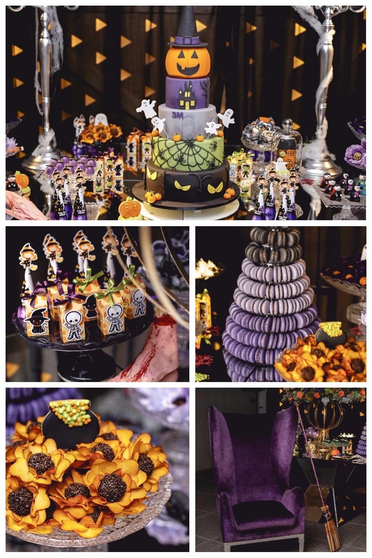 a mesa do bolo da festa de 3 milhões da evelyn regly foi organizada pela Roberta Spiguel e seus parceiros