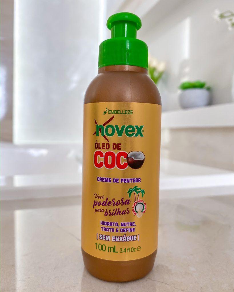 creme para pentear novex óleo de coco com 100 gramas